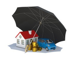 house under umbrella